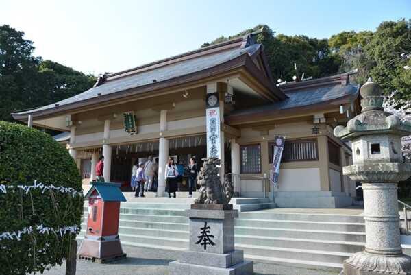 福岡西公園 光雲神社
