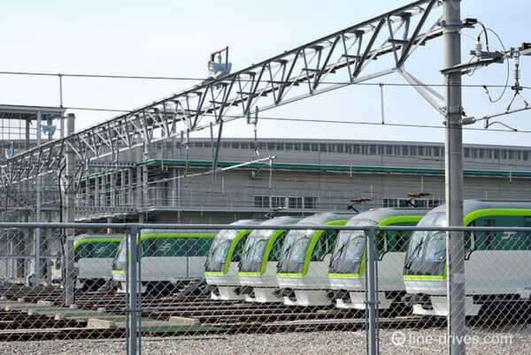 福岡市営地下鉄七隈線 車両基地