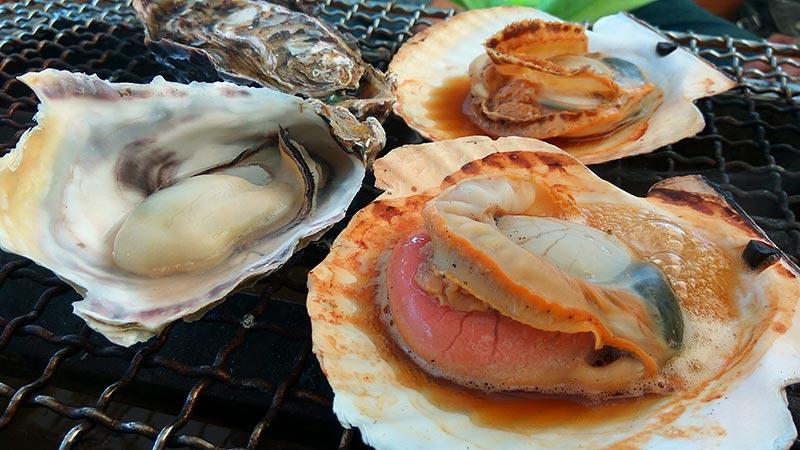 糸島市船越の牡蠣小屋
