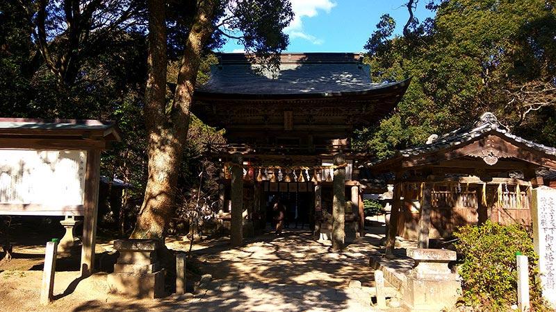 櫻井神社正面