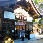 糸島櫻井神社の拝殿