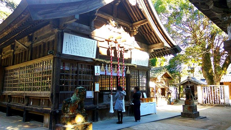 櫻井神社で嵐ファンがチケット当選祈願