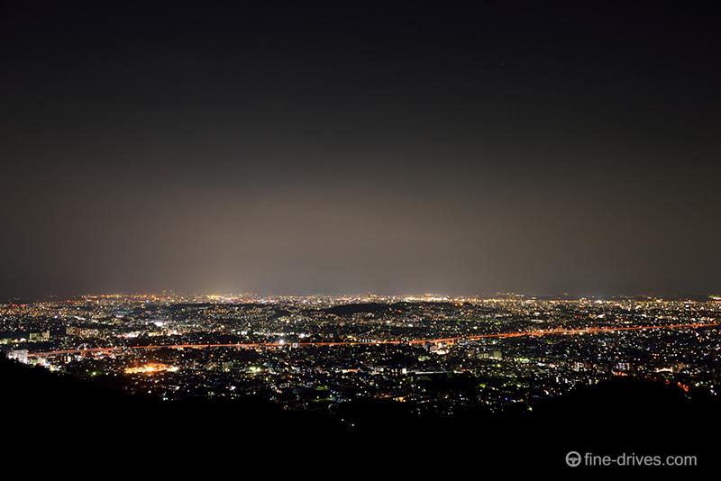 油山展望台からの夜景