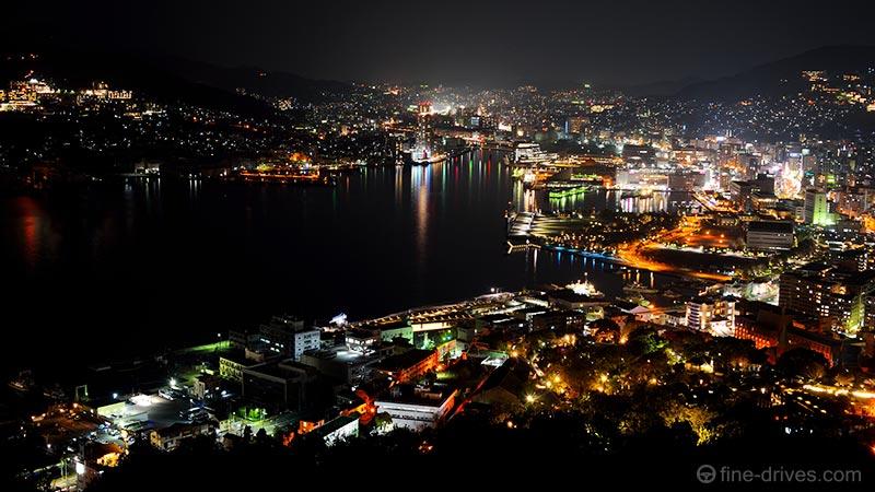 鍋冠山公園からの夜景