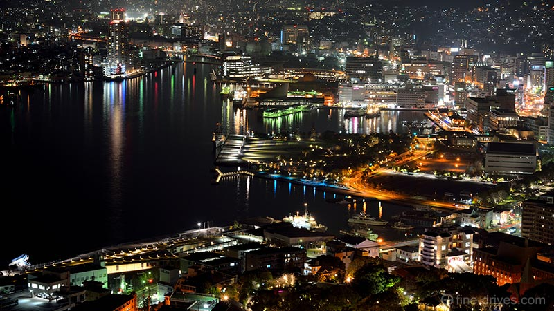 長崎港の夜景