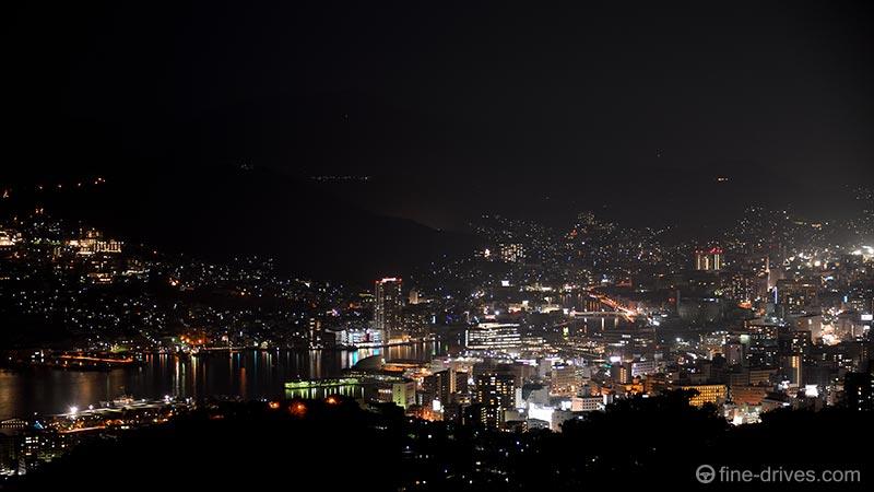 唐八景公園からの長崎港の夜景