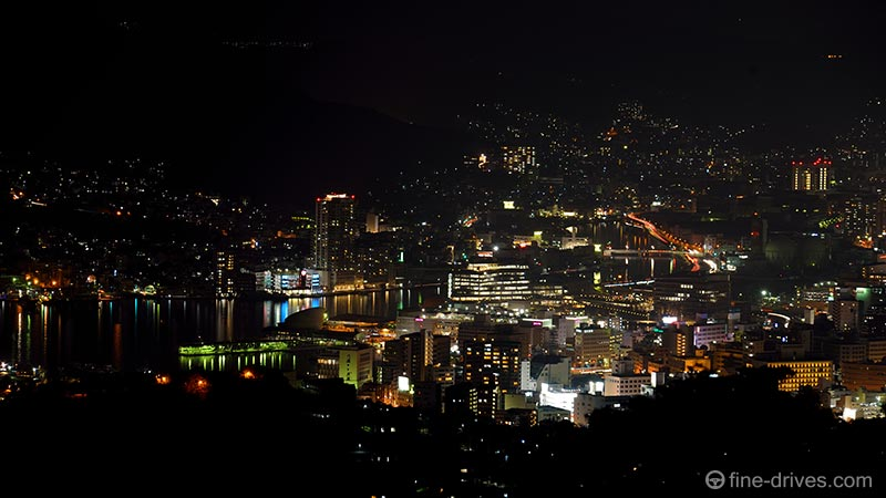 唐八景公園展望台から長崎港を眺める