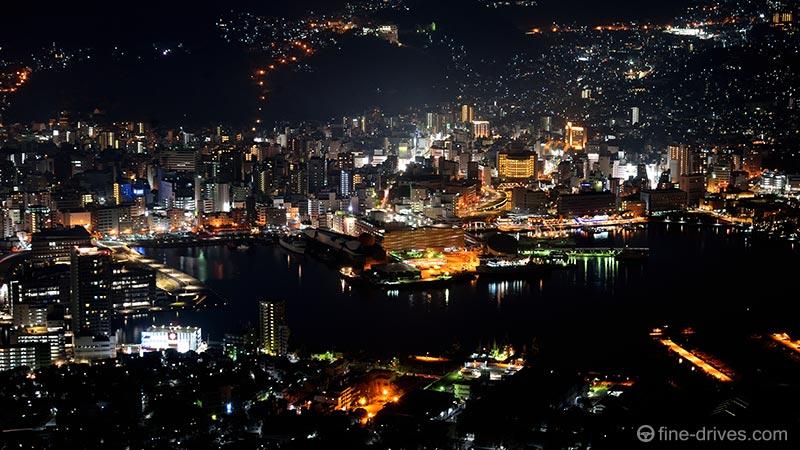 長崎市稲佐山の夜景