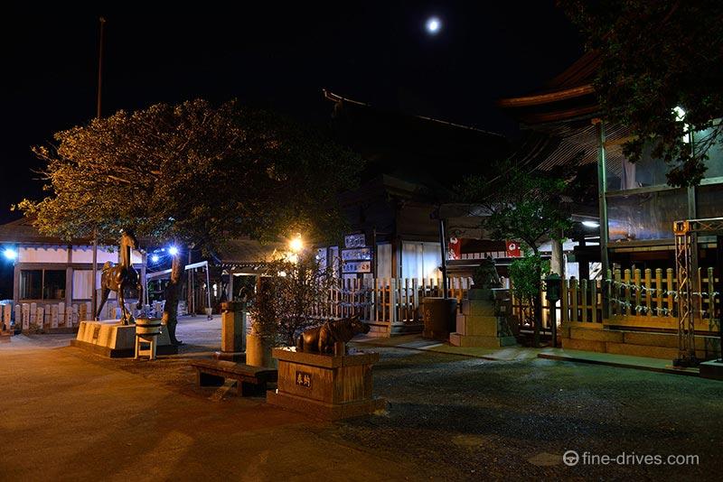 夜の福岡市愛宕神社