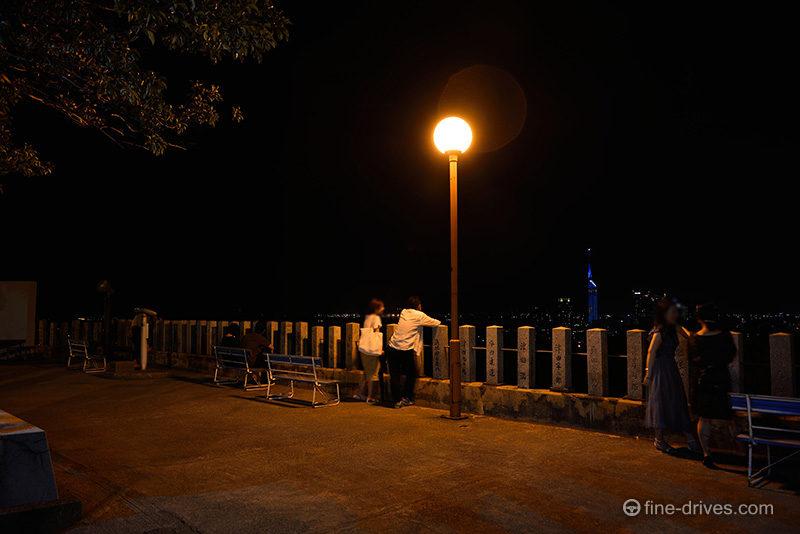 夜景デートスポットの愛宕神社