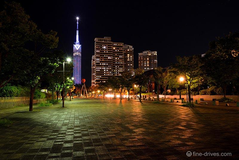 福岡タワー周辺