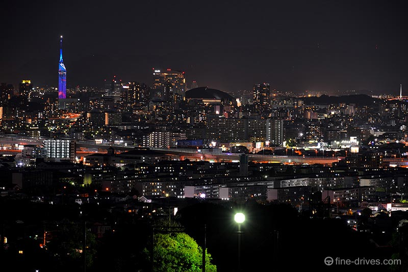 生松台から百道の夜景