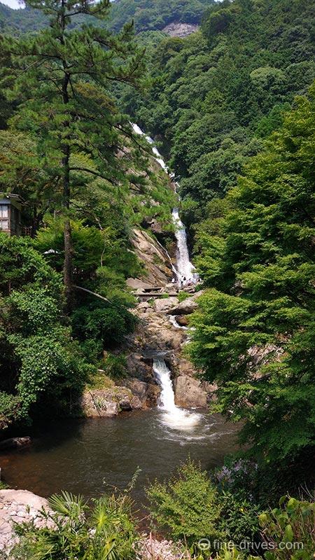 名滝百選 見返りの滝