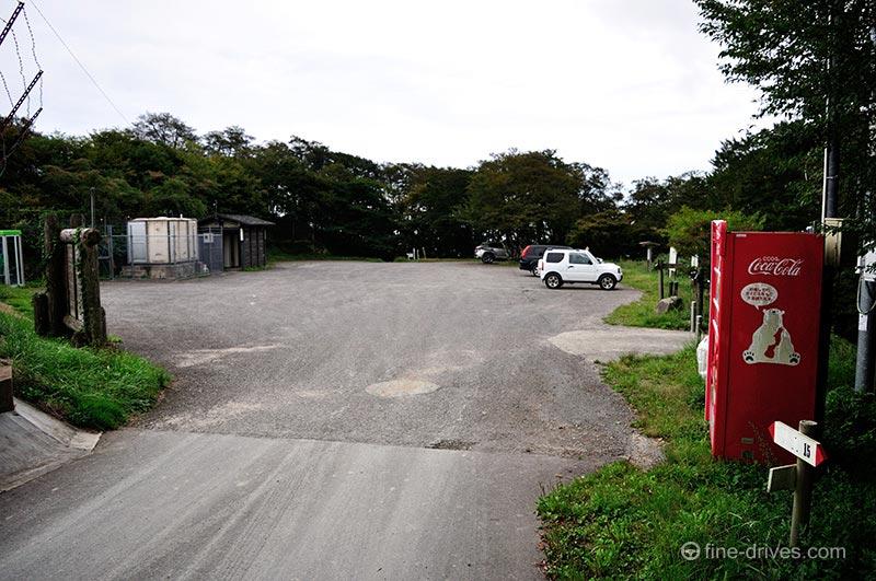 背振山山頂駐車場