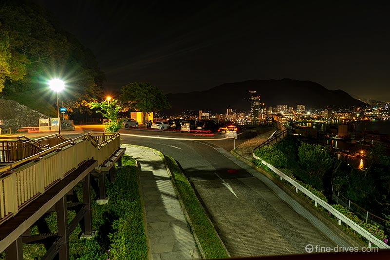 和布刈公園第二展望台の駐車場