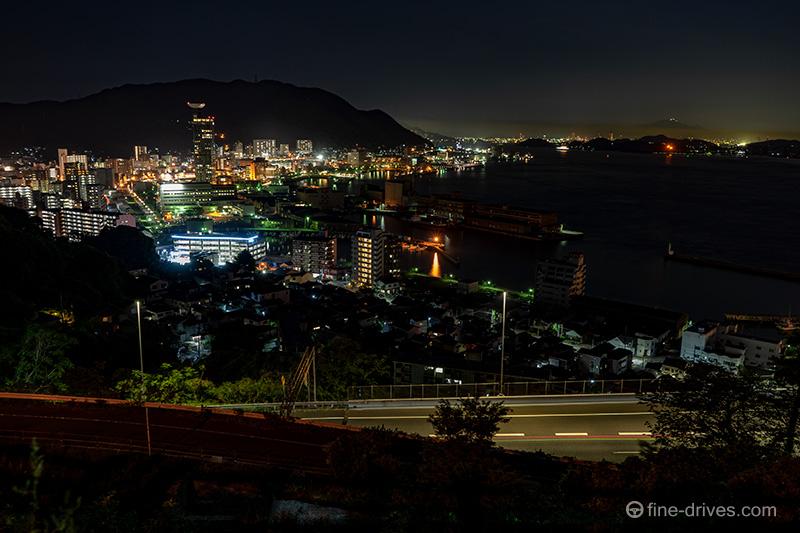 門司港レトロ方面の夜景