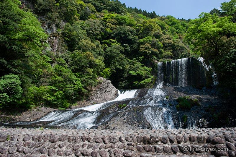 大分県三重町 龍門の滝