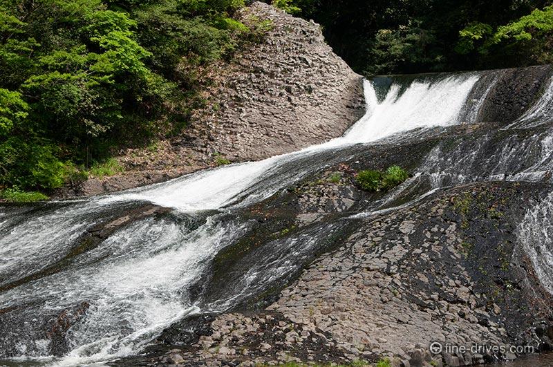 滝滑りコース