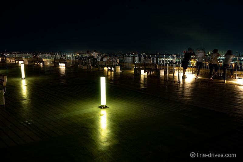 高塔山公園の展望台