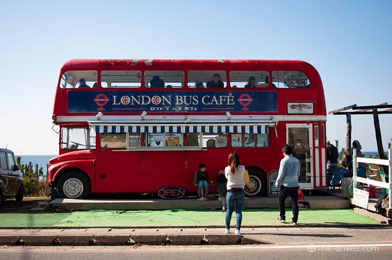ロンドンバスはイートインスペース
