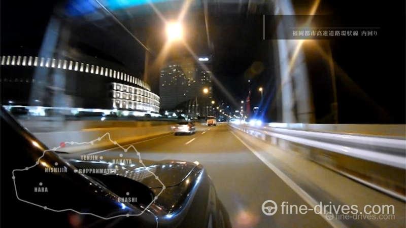 写真:福岡都市高速道路 百道